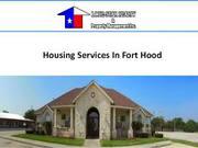 Ft Hood Housing