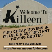 Find Cheap Movers in Killeen & Get Instant Moving Quotes